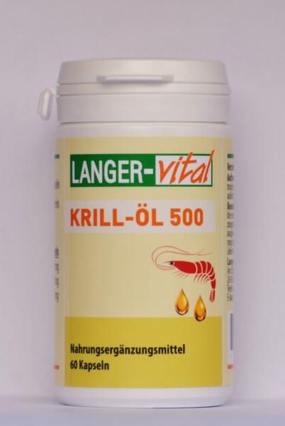 Krill-Öl 500, 60 Kapseln