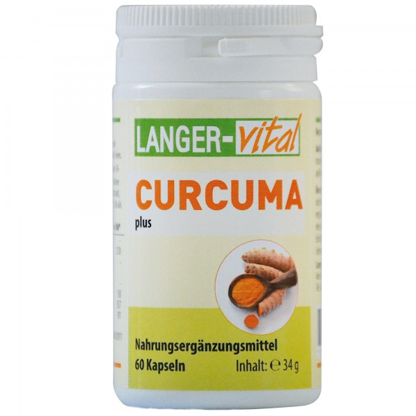 Curcuma plus, 60 Kapseln