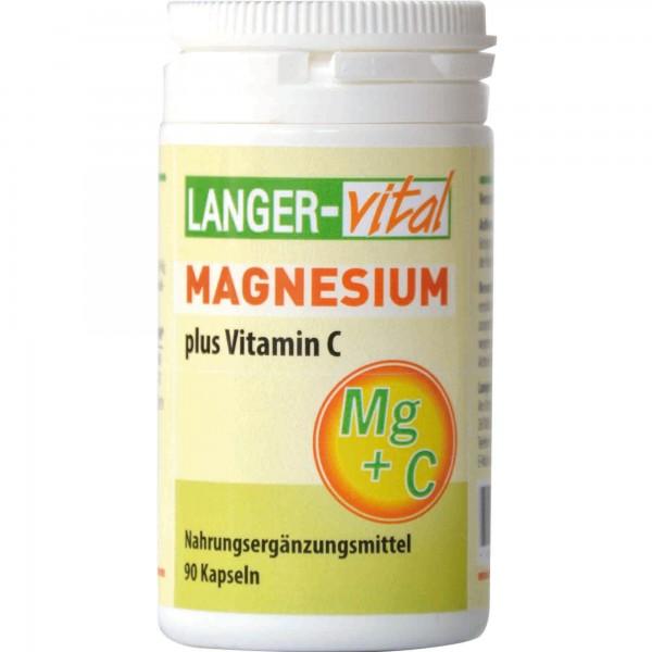 Magnesium plus Vitamin C, 90 Kapseln