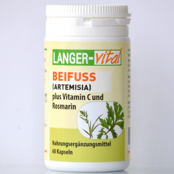 Beifuß/Artemisia + Vitamin C und Rosmarin, 60 Kapseln
