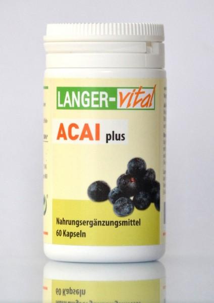 Acai Plus, 60 Kapseln (MHD: 12/19)