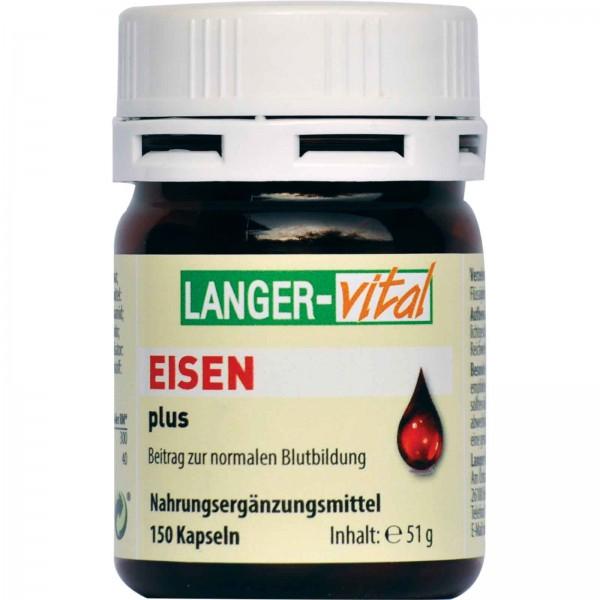 Eisen plus B-Vitamine, 150 Kapseln