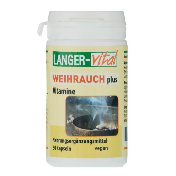 Weihrauch plus Vitamine, 60 Kapseln