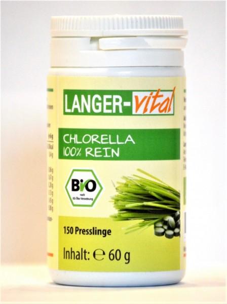 Chlorella Bio 100% rein, 150 Presslinge (MHD 04/19)