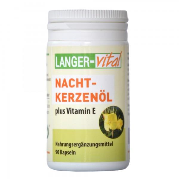 Nachtkerzenöl plus Vitamin E, 90 Kapseln