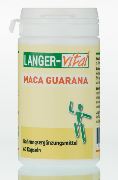 Maca Guarana, 60 Kapseln (MHD: 10/20)