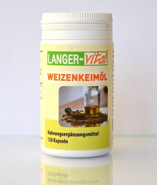 Weizenkeimöl, 120 Kapseln