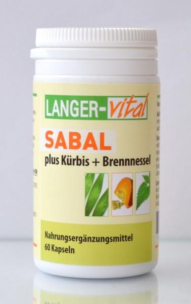 Sabal plus Kürbis+Brennnessel, 60 Kapseln