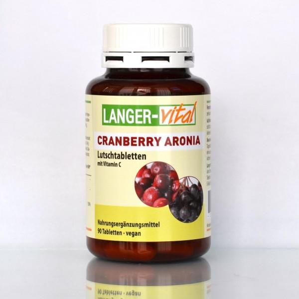 Cranberry Aronia, 90 Lutschtabletten