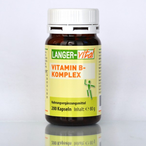 Vitamin B-Komplex, 200 Kapseln