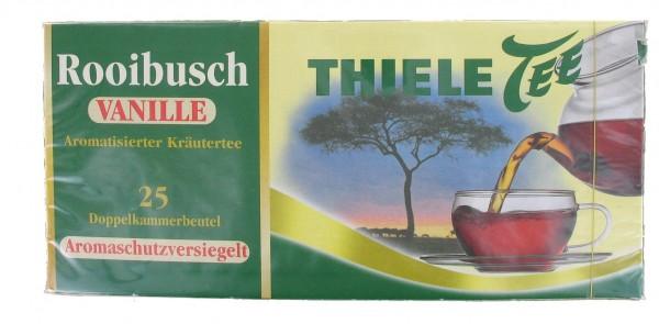 Thiele Tee, Rooibusch Vanille, 25 x 1,5 g Beutel