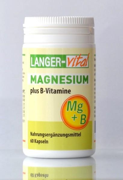 Magnesium plus B-Vitamine, 60 Kapseln