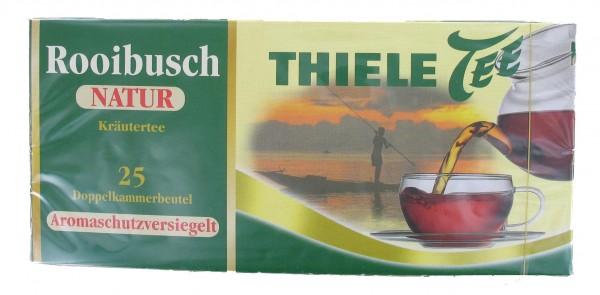Thiele Tee, Rooibusch Natur, 25 x 1,5 g Beutel