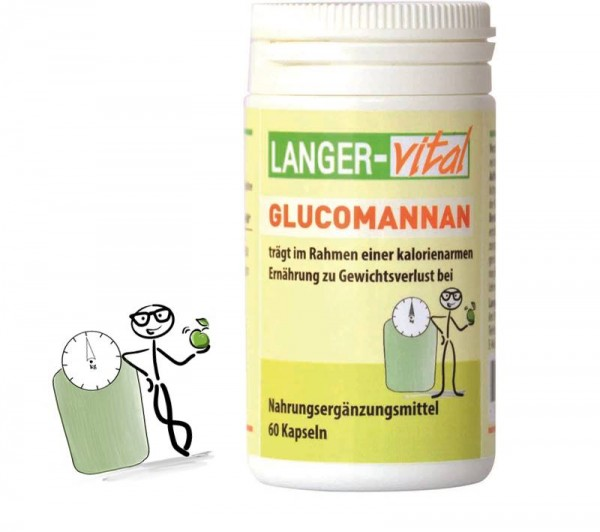Glucomannan, 60 Kapseln