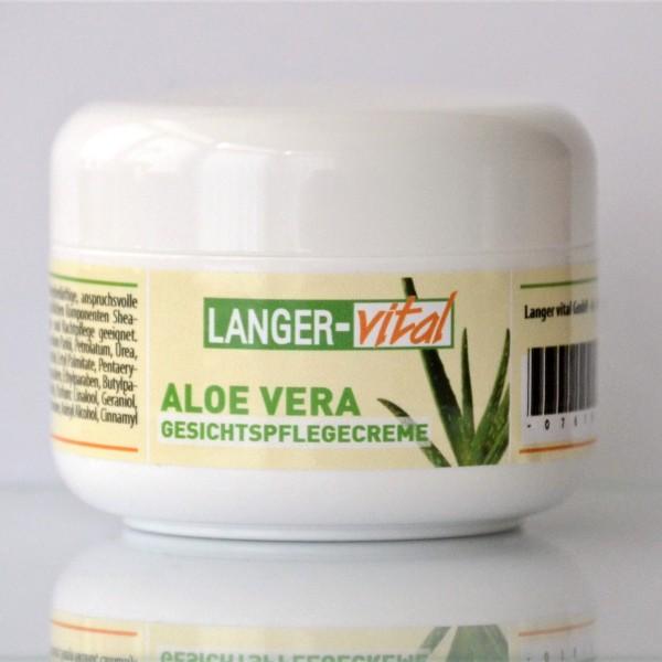Aloe Vera Gesichtspflegecreme, 100 ml