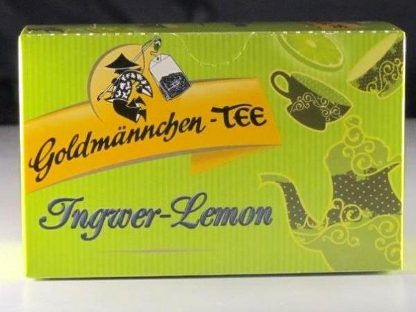 Goldmännchen-Tee Ingwer-Lemon
